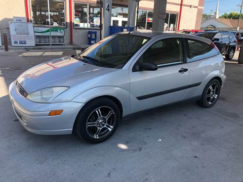 2001 Ford Focus for sale at JE Auto Sales LLC in Indianapolis IN