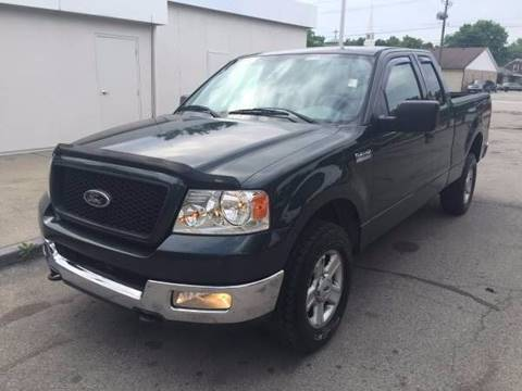 2004 Ford F-150 for sale at JE Auto Sales LLC in Indianapolis IN