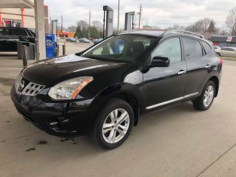 2012 Nissan Rogue for sale at JE Auto Sales LLC in Indianapolis IN