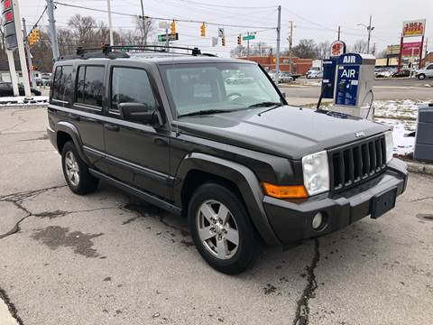 2006 Jeep Commander for sale at JE Auto Sales LLC in Indianapolis IN