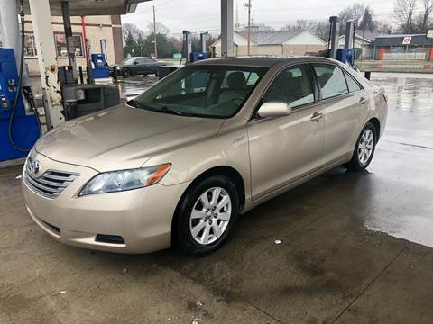 2007 Toyota Camry Hybrid for sale at JE Auto Sales LLC in Indianapolis IN