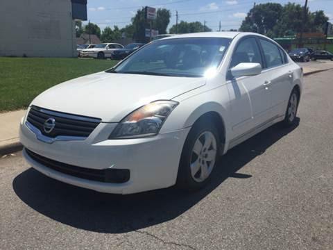 2008 Nissan Altima for sale at JE Auto Sales LLC in Indianapolis IN
