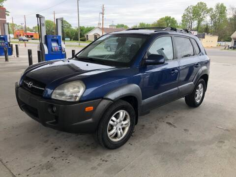 2007 Hyundai Tucson for sale at JE Auto Sales LLC in Indianapolis IN