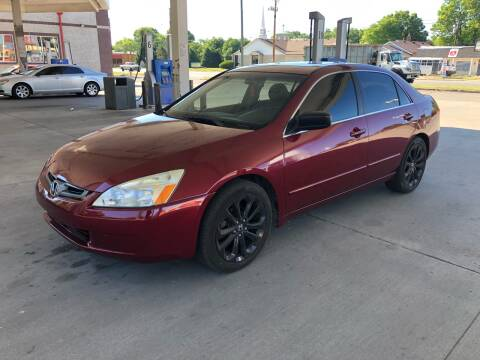 2005 Honda Accord for sale at JE Auto Sales LLC in Indianapolis IN