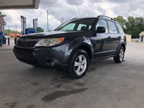 2010 Subaru Forester for sale at JE Auto Sales LLC in Indianapolis IN