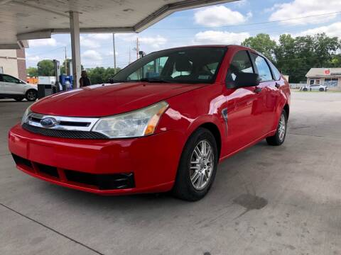 2008 Ford Focus for sale at JE Auto Sales LLC in Indianapolis IN