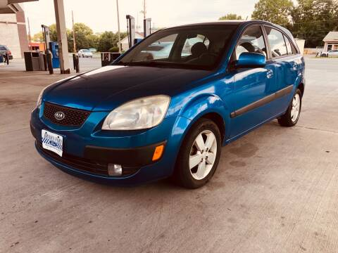 2007 Kia Rio5 for sale at JE Auto Sales LLC in Indianapolis IN