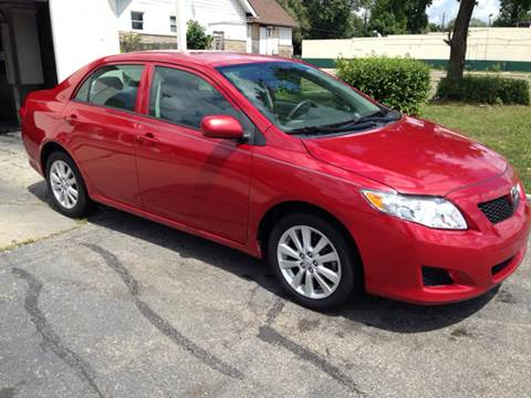 2010 Toyota Corolla for sale at JE Auto Sales LLC in Indianapolis IN