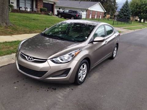 2014 Hyundai Elantra for sale at JE Auto Sales LLC in Indianapolis IN