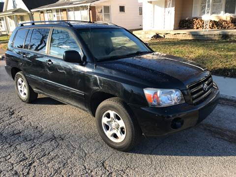 2006 Toyota Highlander for sale at JE Auto Sales LLC in Indianapolis IN