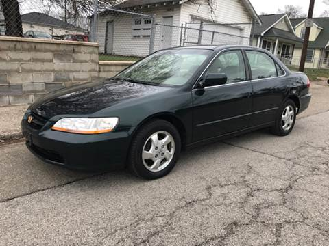 1999 Honda Accord for sale at JE Auto Sales LLC in Indianapolis IN