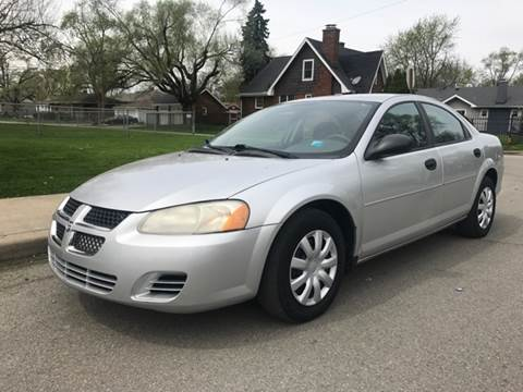 2004 Dodge Stratus for sale at JE Auto Sales LLC in Indianapolis IN