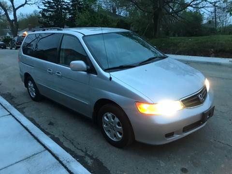 2003 Honda Odyssey for sale at JE Auto Sales LLC in Indianapolis IN