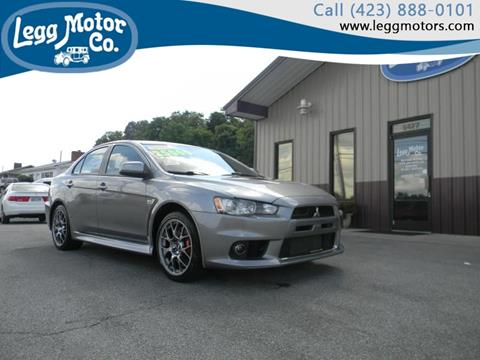 2012 Mitsubishi Lancer Evolution for sale in Piney Flats, TN