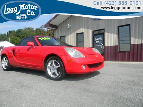 2003 Toyota MR2 Spyder for sale in Piney Flats, TN