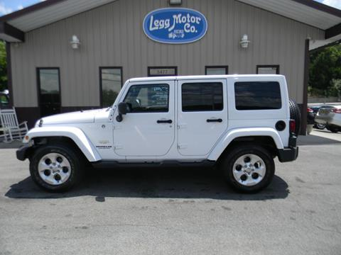 2014 Jeep Wrangler Unlimited for sale in Piney Flats, TN