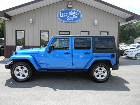 2015 Jeep Wrangler Unlimited for sale in Piney Flats, TN