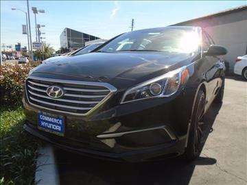 2017 Hyundai Sonata for sale in Commerce CA