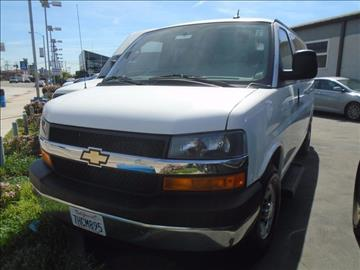 2014 Chevrolet Express Passenger for sale in Commerce, CA