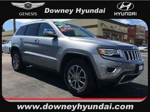 2016 Jeep Grand Cherokee for sale in Commerce, CA
