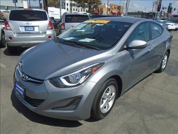 2014 Hyundai Elantra for sale in Commerce CA