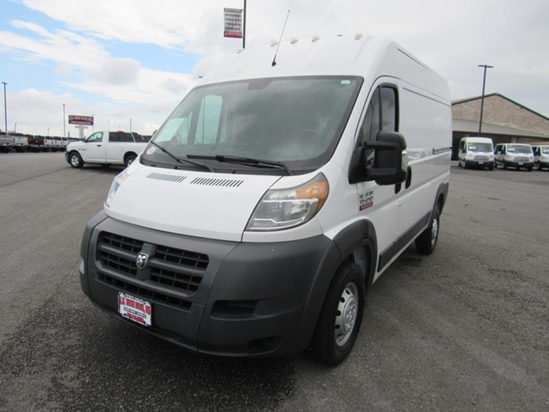 47422d2de8 2017 Ram Promaster Cargo 1500 136 WB 3dr High Roof Cargo Van In Oakwood GA  - J.W. Truck Sales Inc