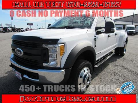 2017 Ford F-450 Super Duty for sale in Oakwood, GA
