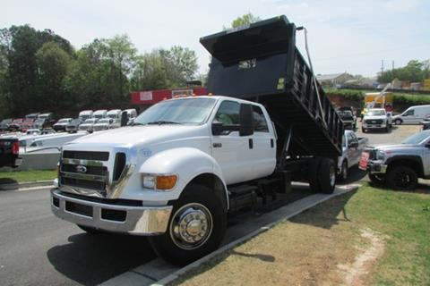 2015 Ford F-750 CREWCAB DUMPBED for sale in Oakwood, GA
