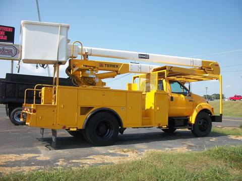 2009 Ford F750 Bucket Truck for sale in Cadiz, KY