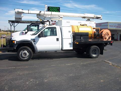 2008 Ford Super Duty F450 Flatbed Truck for sale in Cadiz, KY
