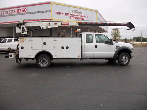 2009 Ford F550 4x4 Service Truck for sale in Cadiz, KY
