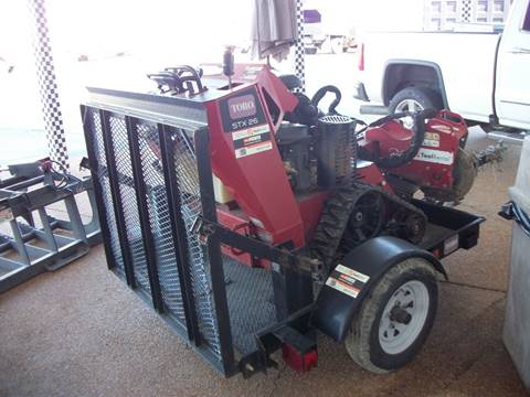 2013 Toro STX26 Crawler  Stump Grinder for sale in Cadiz, KY