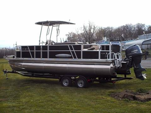 2016 Custom Built Fishing Pontoon