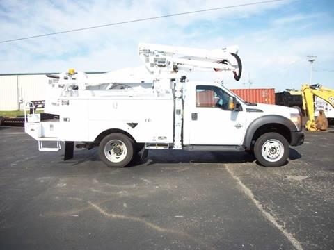 2011 Ford F550 4x4 Bucket Truck