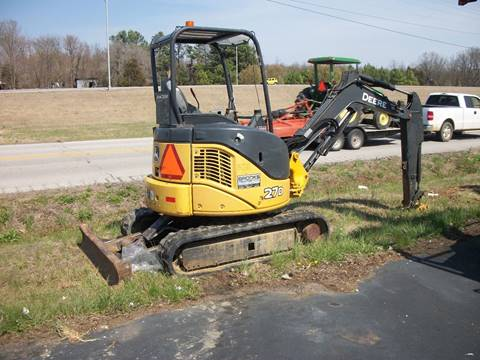 2010 John Deere 27D Mini Hydraulic Excavator