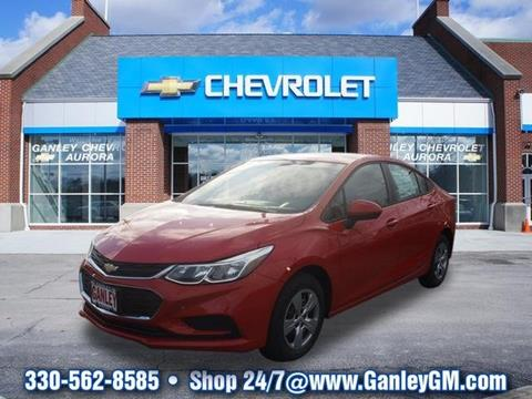 2017 Chevrolet Cruze for sale in Aurora, OH