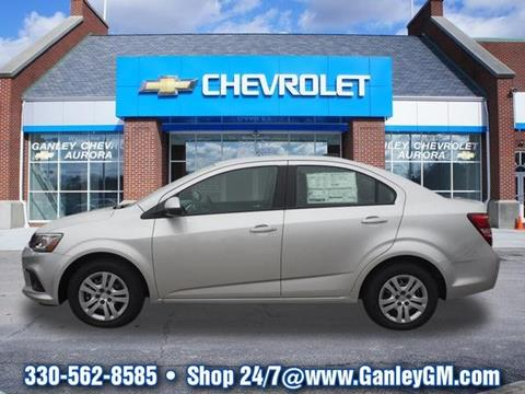 2017 Chevrolet Sonic for sale in Aurora, OH