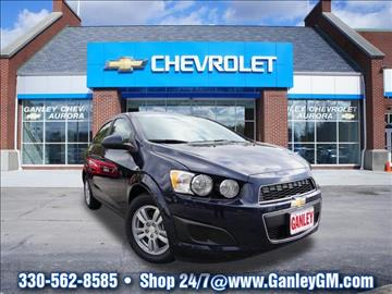 2016 Chevrolet Sonic for sale in Aurora, OH
