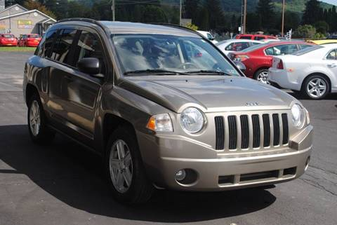 2007 Jeep Compass for sale at Susquehanna Auto in Oneonta NY