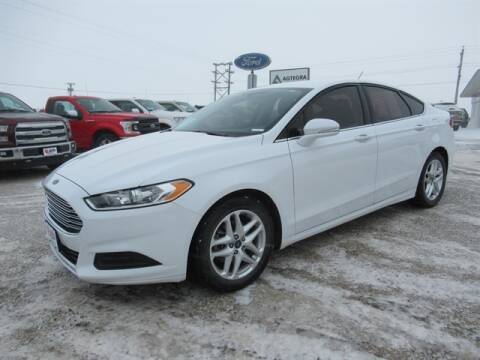 2016 Ford Fusion SE for sale at Jan Busse Ford in Highmore SD