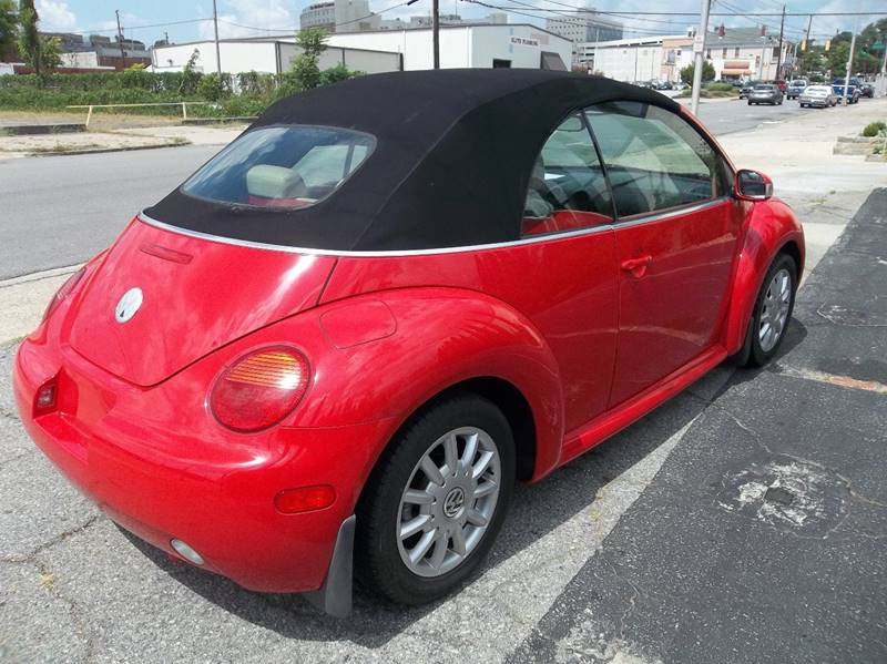 2004 volkswagen new beetle gls 2dr convertible in macon ga import auto mall. Black Bedroom Furniture Sets. Home Design Ideas