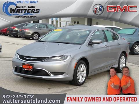 2016 Chrysler 200 for sale in Indianola, IA