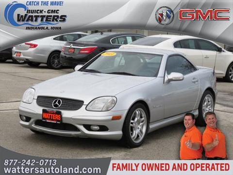 2003 Mercedes-Benz SLK for sale in Indianola, IA