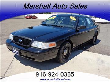 2010 Ford Crown Victoria for sale in Sacramento, CA