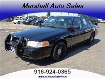 2008 Ford Crown Victoria for sale in Sacramento, CA