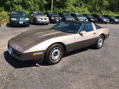 1984 Chevrolet Corvette For Sale Carsforsale Com