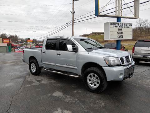 2005 Nissan Titan for sale at Route 22 Autos in Zanesville OH