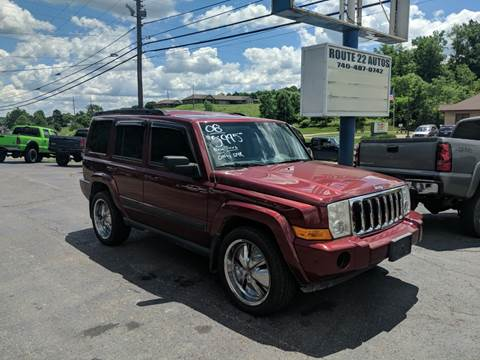 2008 Jeep Commander for sale in Zanesville, OH