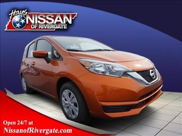 2017 Nissan Versa Note for sale in Madison, TN