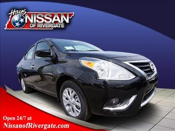 2017 Nissan Versa for sale in Madison, TN